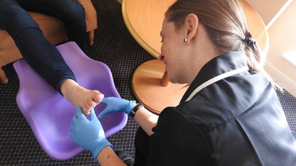 Healthy Feet Mobile Clinic Bolton treatment