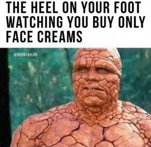 foot health advice uk